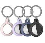 Чехол для AirTag AhaStyle Premium Silicone Secure Holder Pink