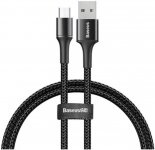 Кабель Baseus halo USB For Micro 2A 2m Black