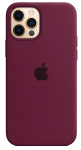 Чехол для iPhone 12 Pro Max Original Silicone Copy Black Currant