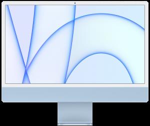 """iMac M1 24"""" 4.5K 512Gb 8GPU Blue (Z12W000NU) 2021"""