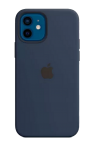 Чехол для iPhone 12/12 Pro with MagSafe Original Silicone Copy Deep Navy