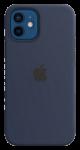 Чехол для iPhone 12/12 Pro Original Silicone Copy Deep Lake Blue