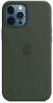 Чехол для iPhone 12 Pro Max with MagSafe Original Silicone Copy Cyprus Green