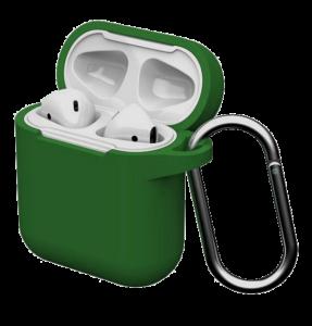 Силиконовый чехол для Airpods Blueo Army Green