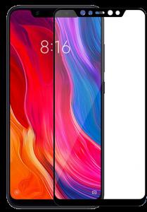 Защитное стекло Xiaomi Mi 8 Full Glue Black