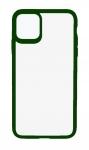 Чехол для iPhone 11 TPU Colored Edge Green