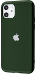 Чехол для iPhone 11 Glass+TPU Case Pine Green