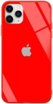 Чехол для iPhone 11 Pro Max Glass+TPU Case Red