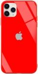 Чехол для iPhone 11 Pro Glass+TPU Case Red