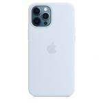 Чехол для iPhone 12/12 Pro with MagSafe Original Silicone Copy Cloud Blue