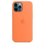 Чехол для iPhone 12/12 Pro with MagSafe Original Silicone Copy Cloud Kumquat