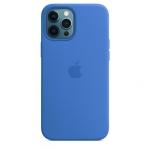 Чехол для iPhone 12 Pro Max Original Silicone Copy Capri Blue