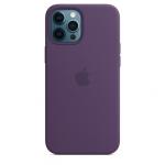 Чехол для iPhone 12 Pro Max with MagSafe Original Silicone Copy Amethyst