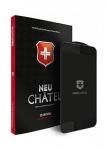 Защитное стекло для iPhone Xs Max +NEU Chatel Full 3D Crystal Front Black