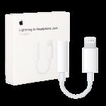 Адаптер Apple Lightning to 3.5mm Headphones for iPhone 7/7 plus