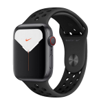 Watch 40mm Nike+ Space Gray Aluminium Case with Anthracite Black Nike Sport Band (MG013/MYYU2) Series SE GPS + LTE