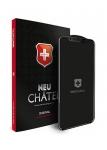 Защитное стекло для iPhone 7/8 +NEU Chatel Full 3D Crystal Front Black