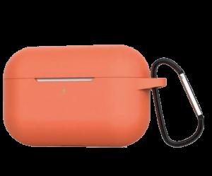 Силиконовый чехол для Airpods Pro Blueo Liquid Silicone Case Papaya