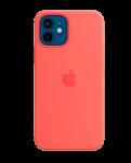 Чехол для iPhone 12/12 Pro Original Silicone Copy Pink Citrus