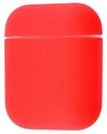 Силиконовый чехол для Airpods Ultra Thin Red