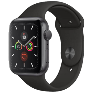 Watch 40mm Space Gray Aluminum Case with Black Sport Band (MWV82) Series 5 GPS EU
