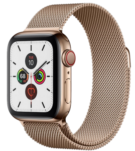 Watch 44mm Gold Stainless Steel Case with Milanese Loop (M09G3/M07P3) Series 6 GPS + LTE