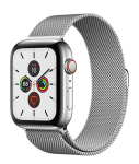 Watch 40mm Silver Stainless Steel Case with Milanese Loop (M02V3/M06U3) Series 6 GPS + LTE