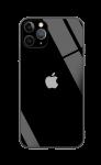 Чехол для iPhone 12 Pro Max Glass+TPU Case Black