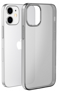 Чехол для iPhone 12/12 Pro USAMS Minni Series TPU Case for  Transparent Black