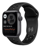 Watch 44mm Nike+ Space Gray Aluminium Case with Anthracite Black Nike Sport Band (MYYK2) Series SE GPS EU