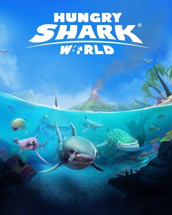 игра hungry shark world для андроид
